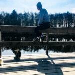 elli at the lake