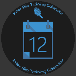 Inter Alia training calendar